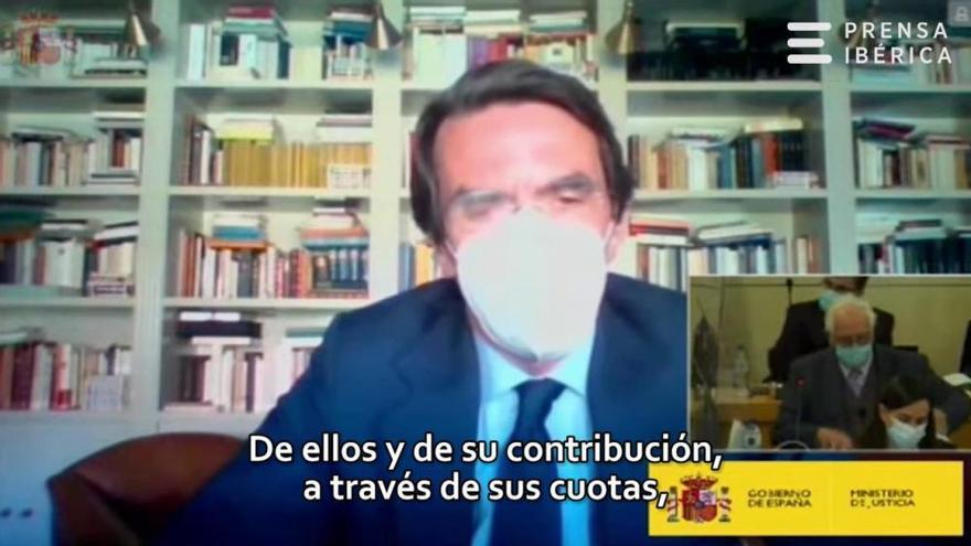Aznar i Rajoy fan causa comuna per negar la caixa B del PP i culpar de tot Bárcenas