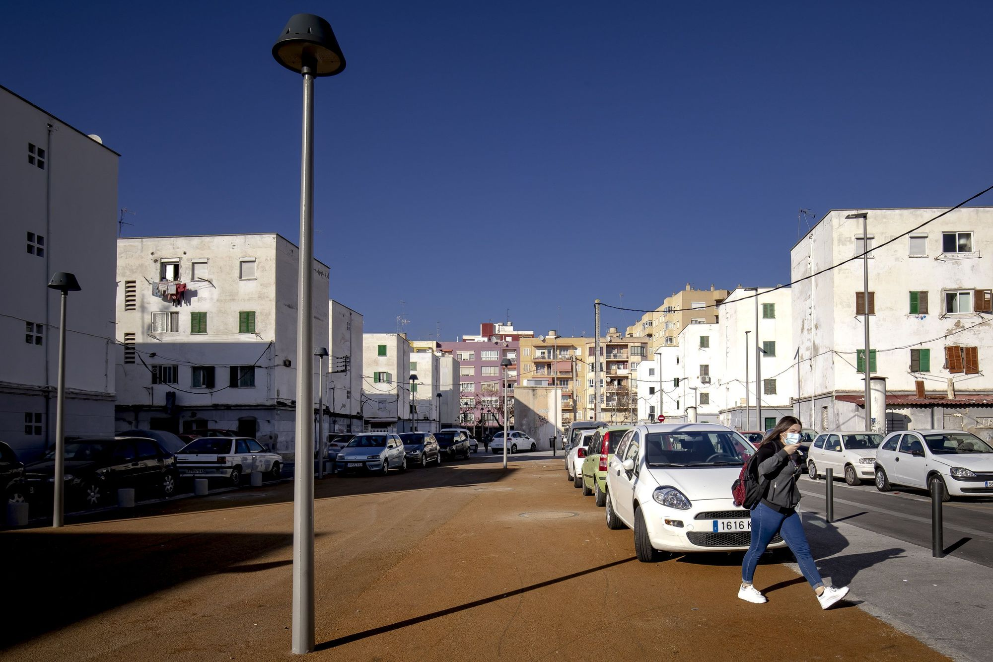 El solar del bloque VIII de Corea ya está urbanizado