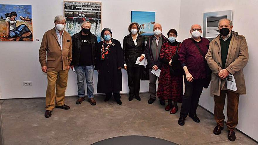 La Asociación de Artistas celebra su primer Salón de Otoño en la Casa Museo Pablo Picasso