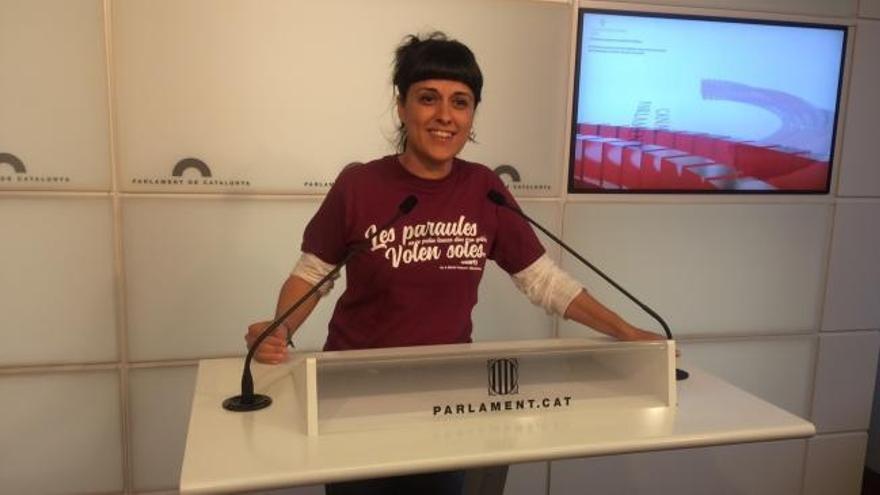 Anna Gabriel huye a Suiza y no acudirá a declarar al Supremo