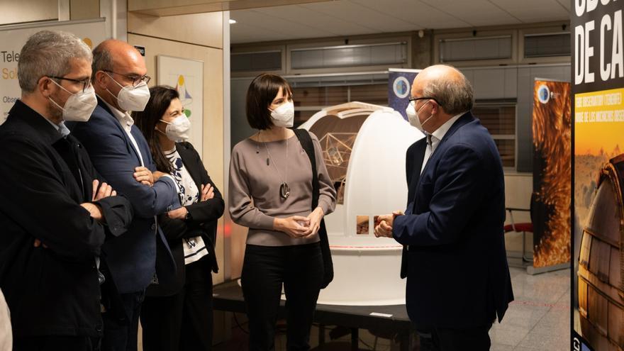 Morant destaca el papel que jugará la ciencia en la reconstrucción de La Palma