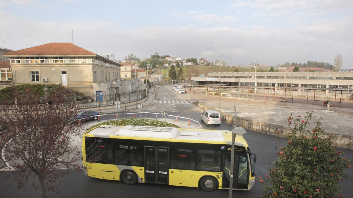 Estación de autobuses de Santiago de Compostela. / Xoán Álvarez