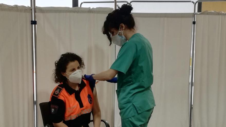 Los voluntarios de Protección Civil, vacunados contra el coronavirus