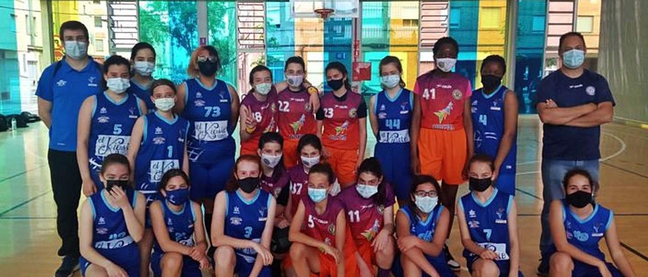 Unió basquet femení Torrent se impone en su partido  | A.T.