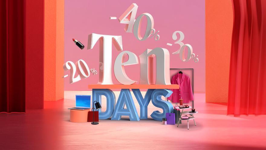 Descuentos exclusivos en los TEN DAYS de Nueva Condomina