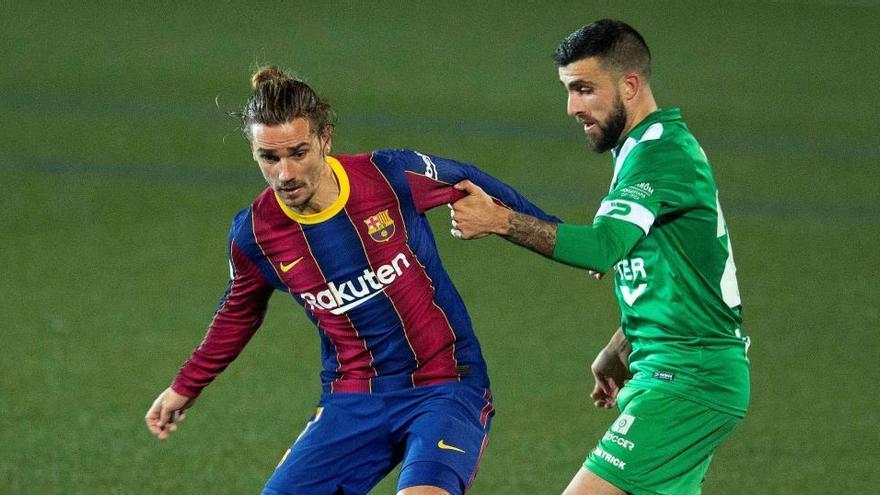 Rayo Vallecano - Barça, Alcoyano - Athletic y Navalcarnero - Granada, en octavos de Copa
