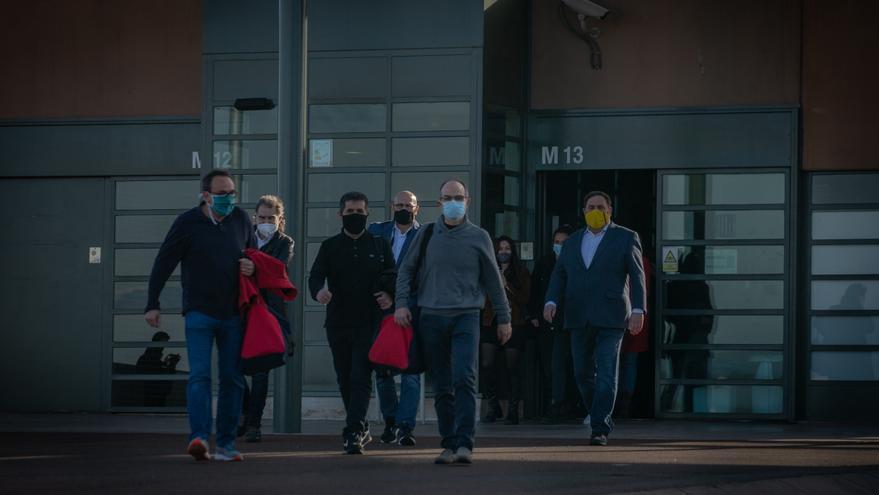 La Generalitat revisará la clasificación de los presos del procés antes de julio