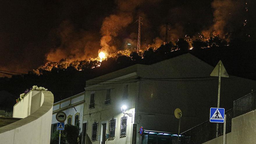 Incendio en Villaharta