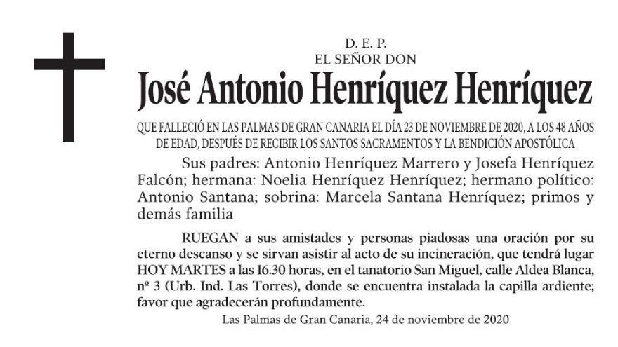 José Antonio Henríquez Henríquez