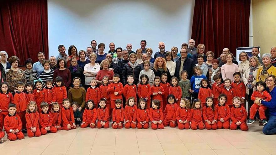 Fiesta y talleres con los abuelos