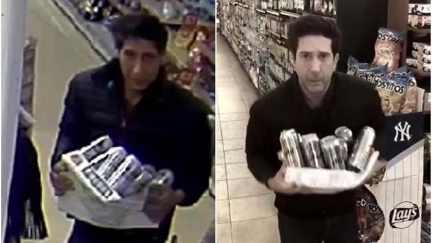 Detenido el ladrón de cervezas que fue confundido con David Schwimmer