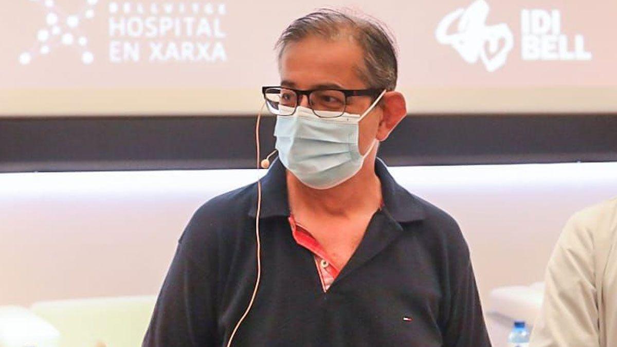 Francesc Béjar, el primer paciente de Catalunya que ha recibido un trasplante de corazón parado en el territorio.
