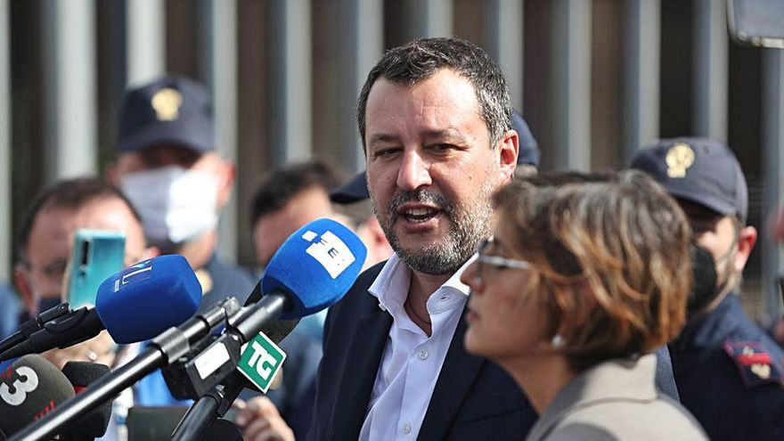 Arrenca el judici contra Salvini pel cas de l'Open Arms