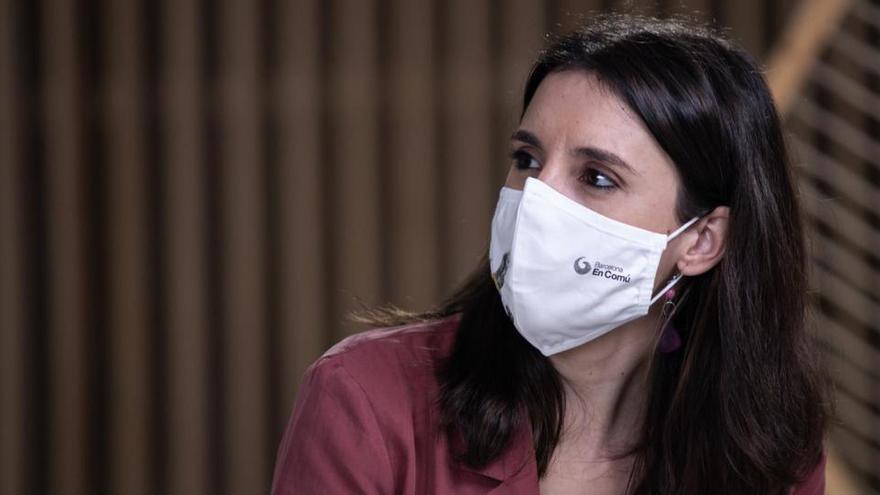 Unidas Podemos se abstendrá ante la ley de igualdad de trato tras tachar al PSOE de desleal