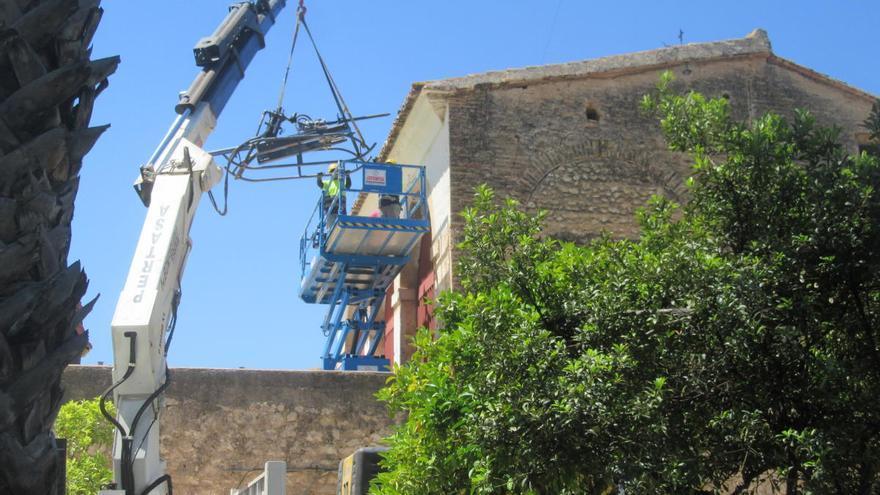 """La restauración del """"embarronat"""" de los Silos de Burjassot sigue en marcha"""