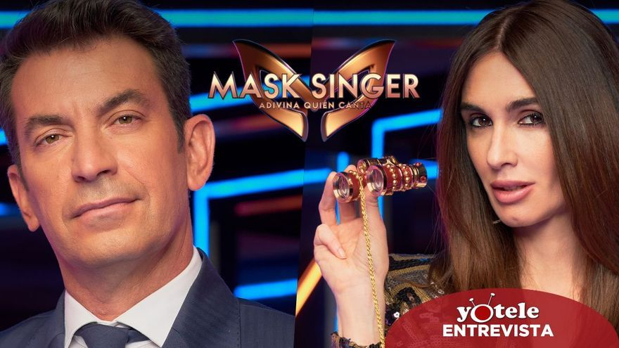"""Paz Vega llega al equipo de investigadores de 'Mask Singer': """"Mi principal temor al principio fue no tener guión"""""""
