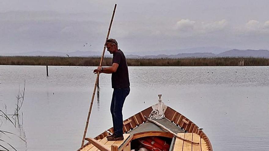 Primera barca eléctrica para l'Albufera
