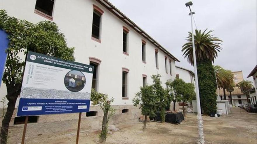 La obra para terminar el centro de emergencia habitacional del Hospital Militar sale a concurso
