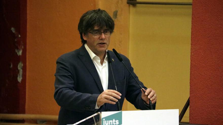 """Puigdemont: """"La confrontació amb l'Estat no es pot defugir, és una realitat inevitable"""""""