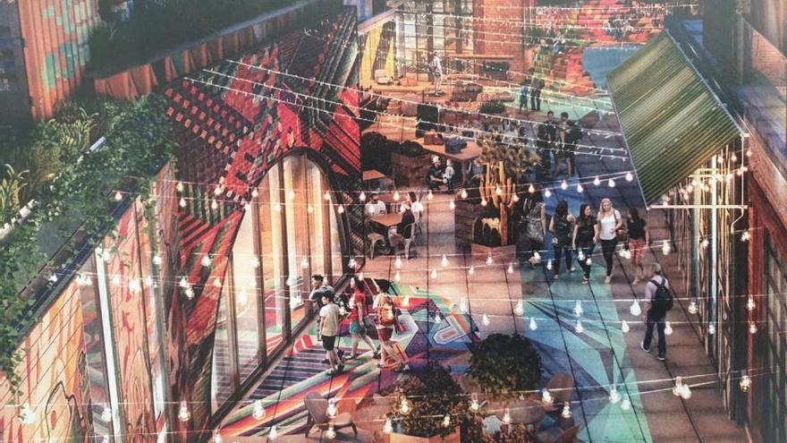 Así será el centro comercial y de ocio Intu Costa del Sol de Torremolinos