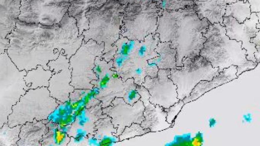 El Meteocat dona per finalitzat l'episodi d'acumulació d'aigua tot i que encara es preveuen pluges