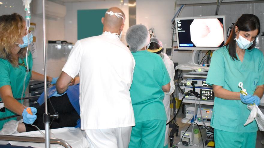 Adjudiquen les obres que permetran doblar la capacitat de l'àrea d'endoscòpies de l'hospital Santa Caterina de Salt