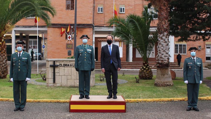Toma posesión el nuevo jefe de la Guardia Civil de Zamora, Héctor David Pulido