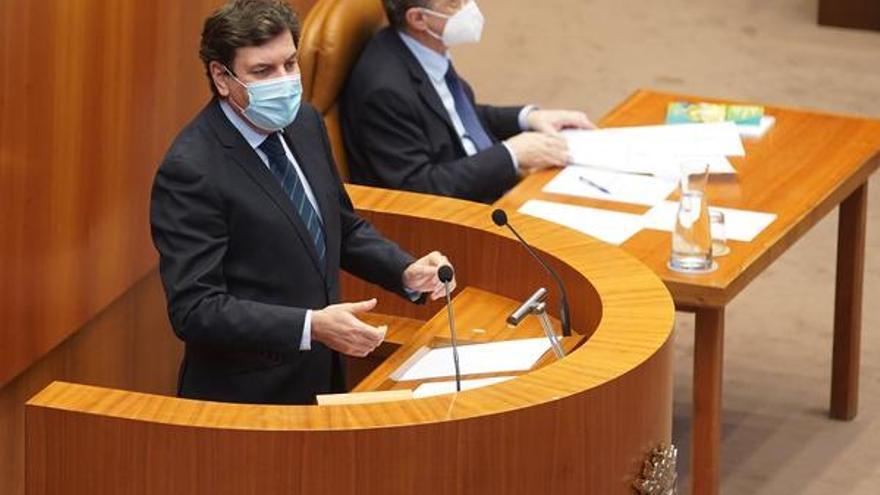 """Carriedo advierte a la oposición que debería apoyar las cuentas """"por coherencia"""""""