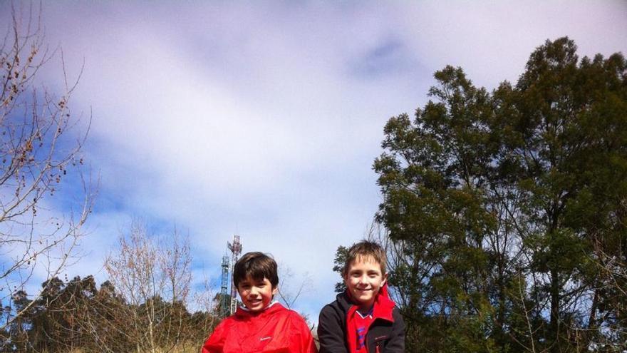 Dos hermanos de Oza-Cesuras se suben al podio del campeonato gallego de trial