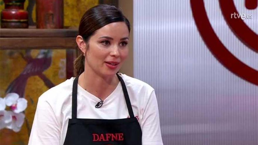 Dafne Fernández, nueva expulsada de 'MasterChef Celebrity'