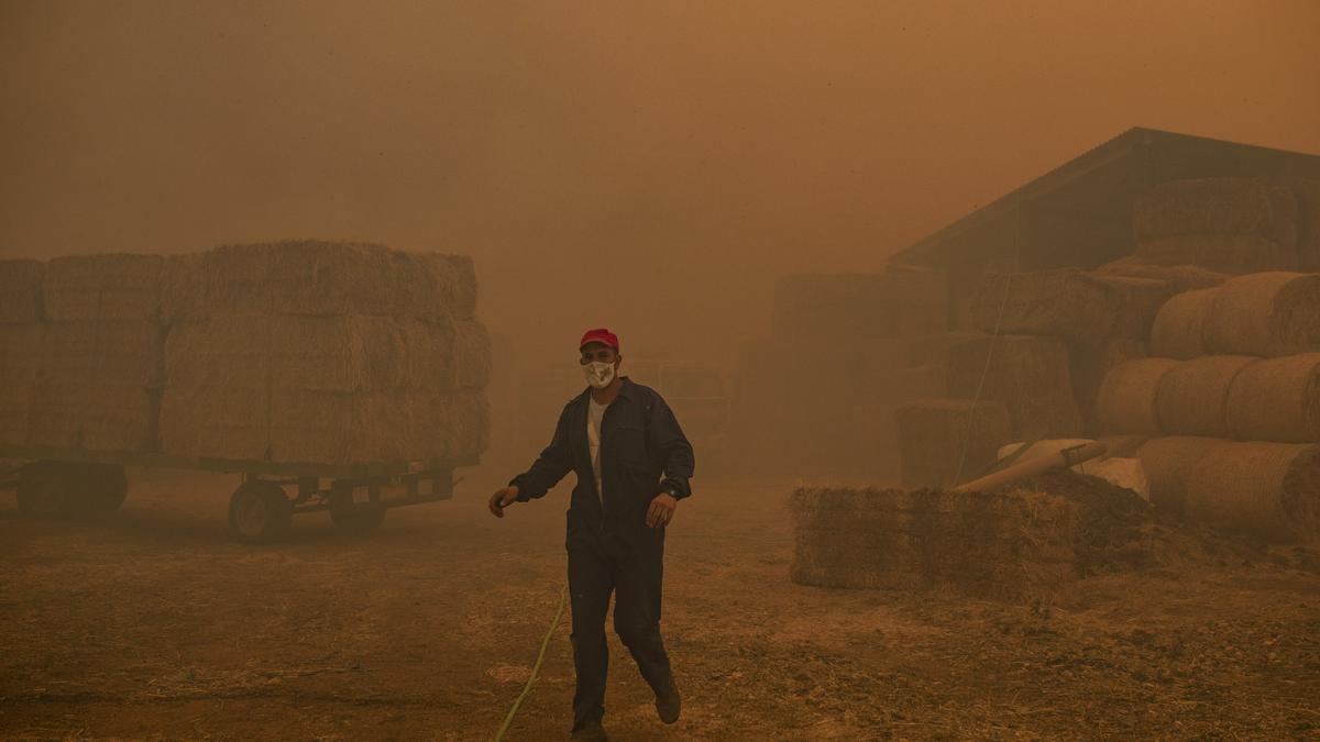 Incendio del 15 de agosto en Lober.