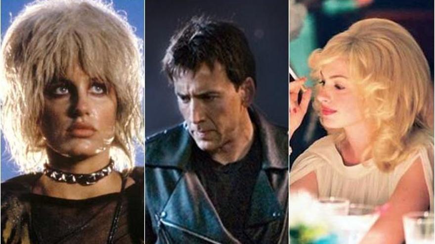 Las peores pelucas de la historia del cine