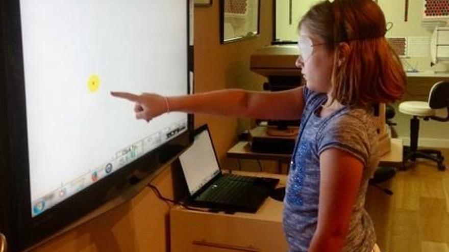 El 25% de los escolares sufre problemas de visión que afectan a su aprendizaje