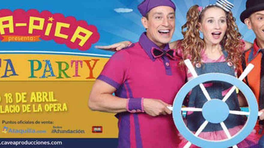 El espectáculo infantil 'Pica pica' se aplaza en A Coruña