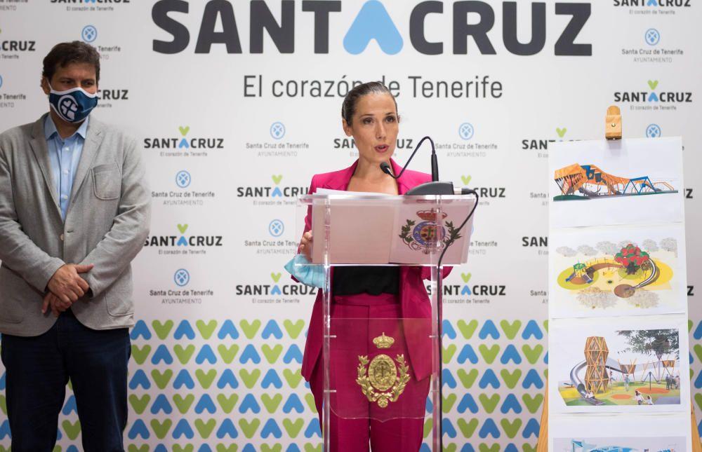 La alcaldesa dio a conocer el proyecto.