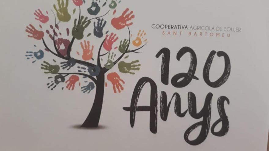 La cooperativa de Sóller retira el logo de su 120 aniversario por plagio
