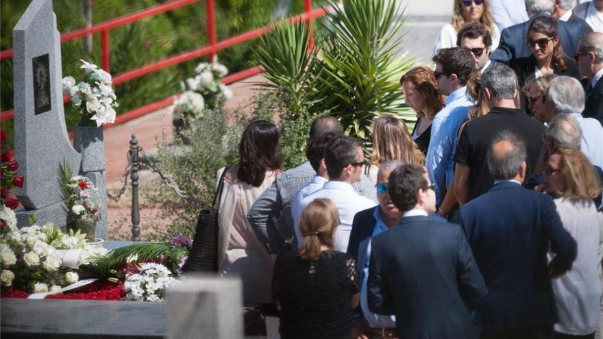 Las cenizas de Miguel Blesa reposan ya en el panteón familiar de Linares