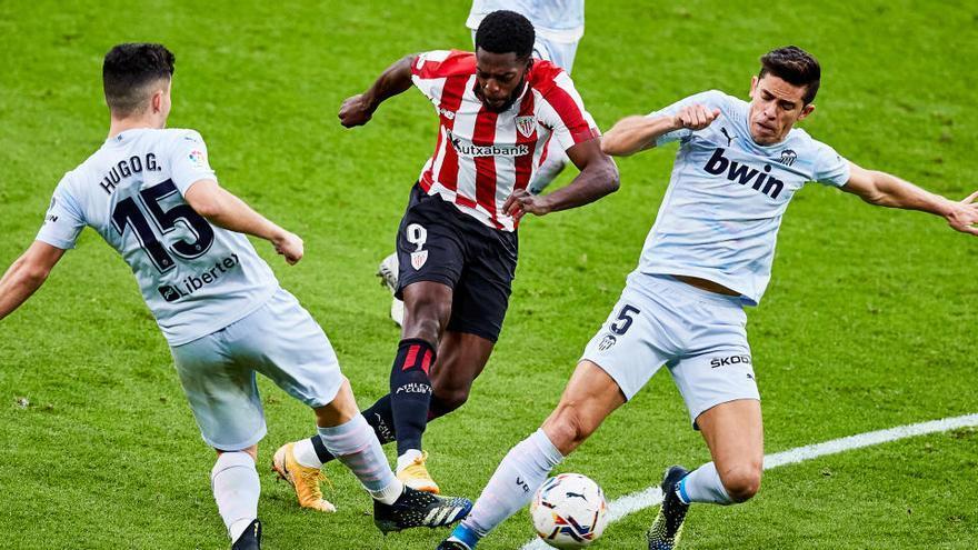El empate en San Mamés no satisface a Athletic ni Valencia