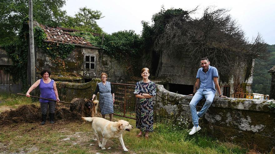 Con la tranquilidad como vecina en la Galicia despoblada