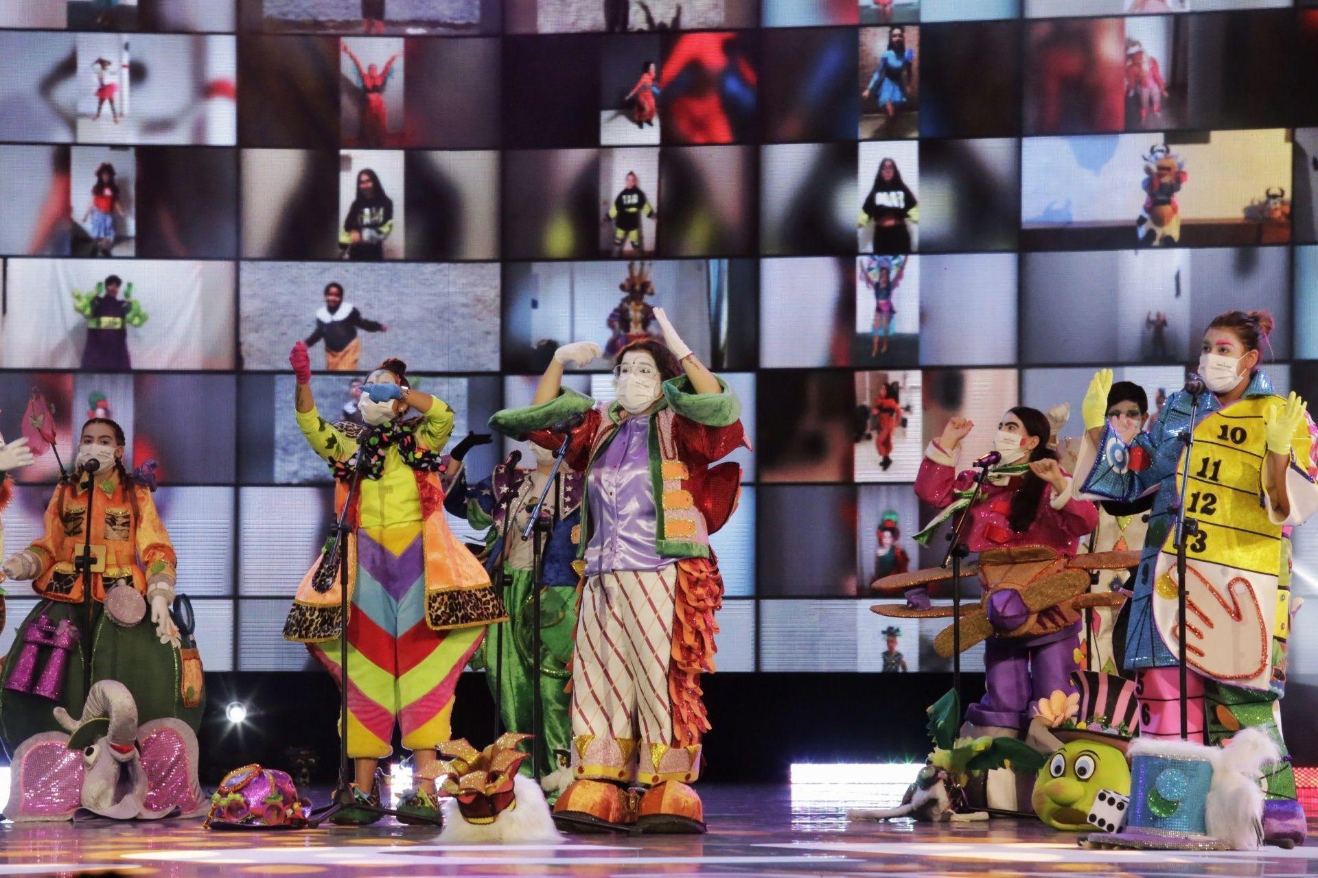 Grabación de las murgas infantiles para el Carnaval Virtual