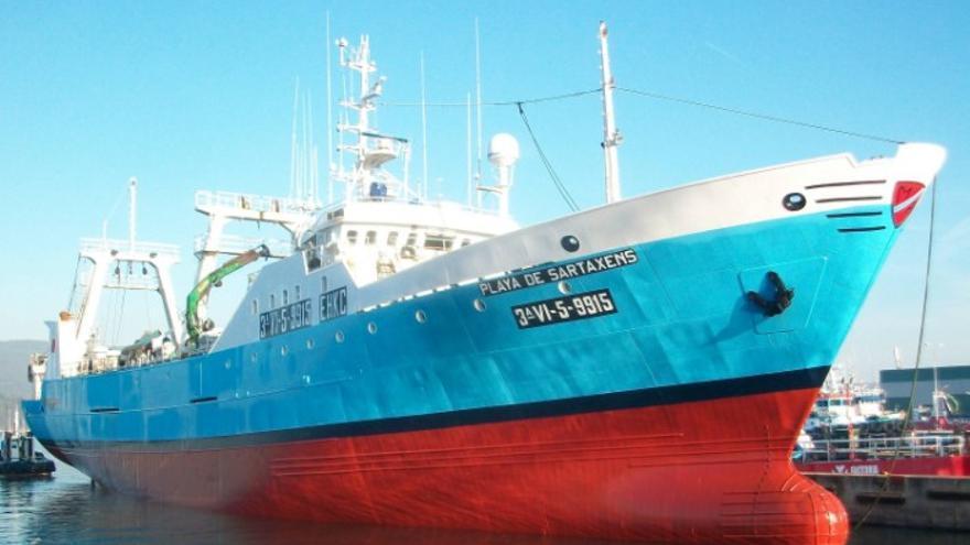 Fallece por COVID un marinero de Cangas en Montevideo