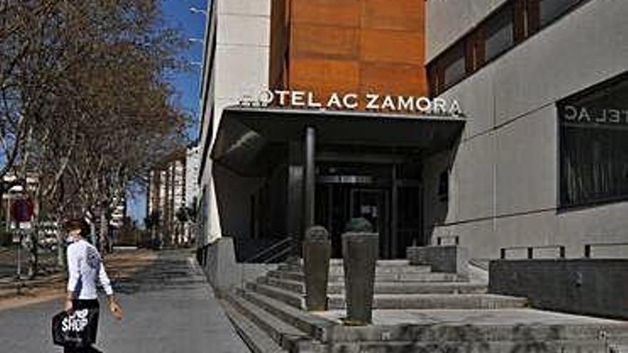 Hotel AC de Zamora, en Cardenal Cisneros.