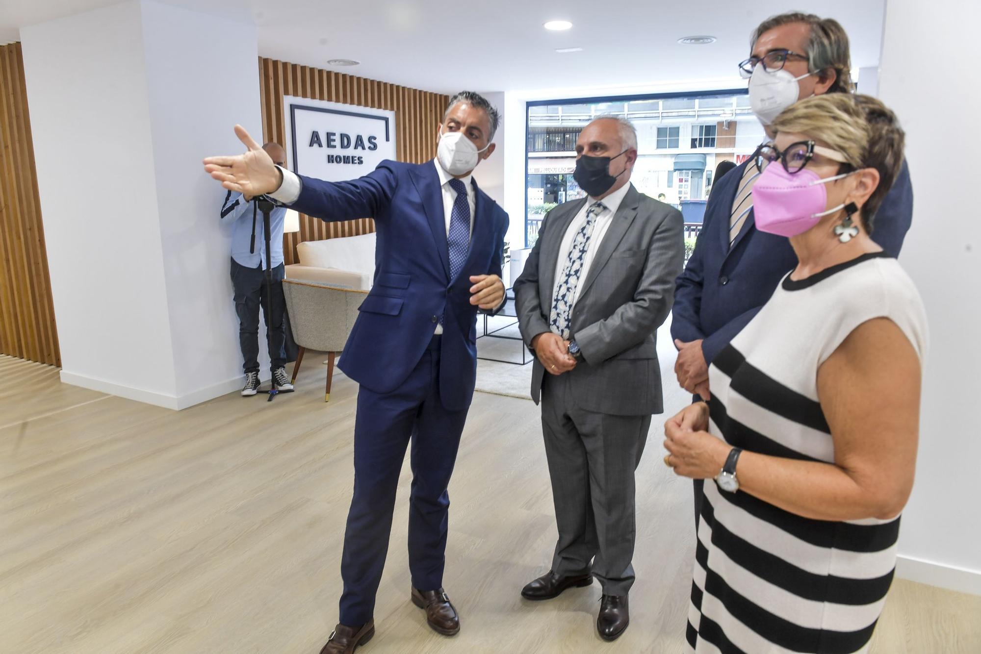 Aedas Homes inaugura su primera oficina de ventas en las Islas