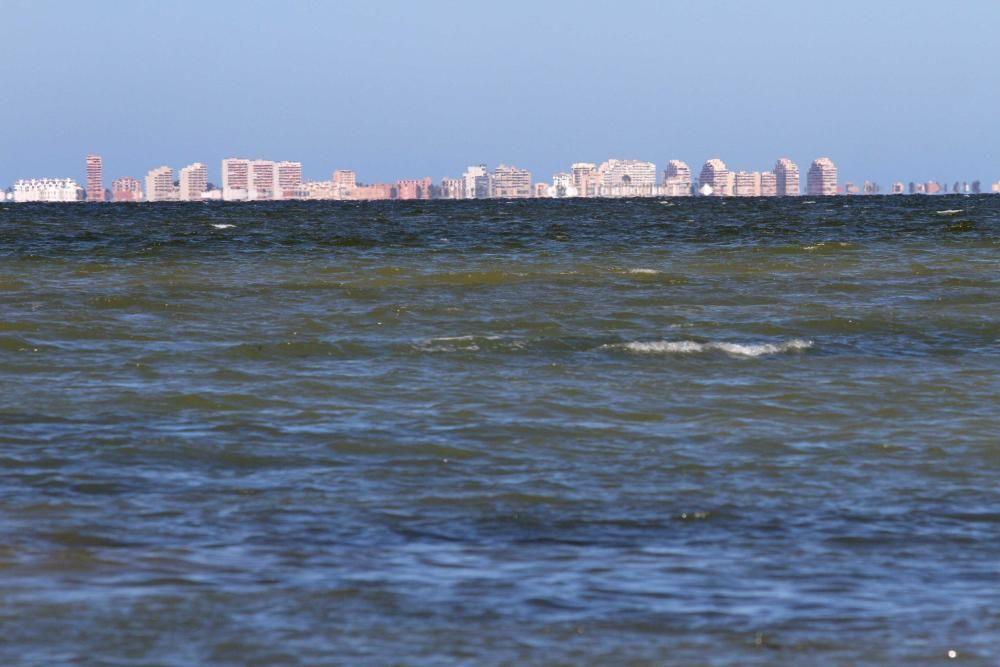 La rambla de El Albujón, epicentro de los vertidos al Mar Menor