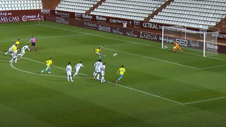 Vídeos de los goles y resumen del partido Albacete Balompié 1 - 1 UD Las Palmas