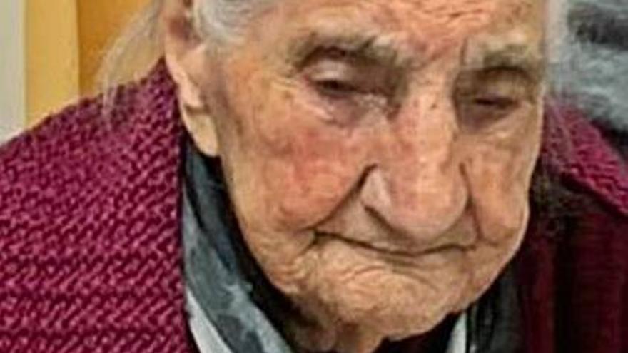Fallece a los 111 años Vicenta Prieto Santos