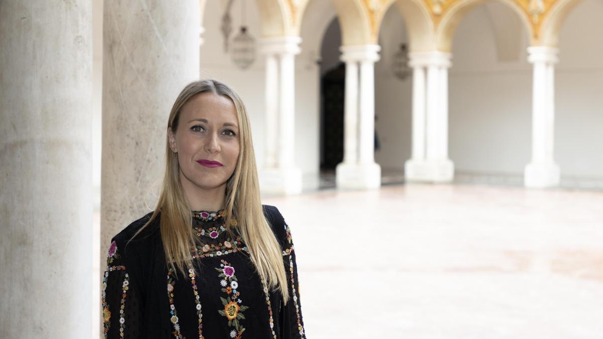 Ana Blasco, delegada de Juventud de la Diputación de Córdoba.