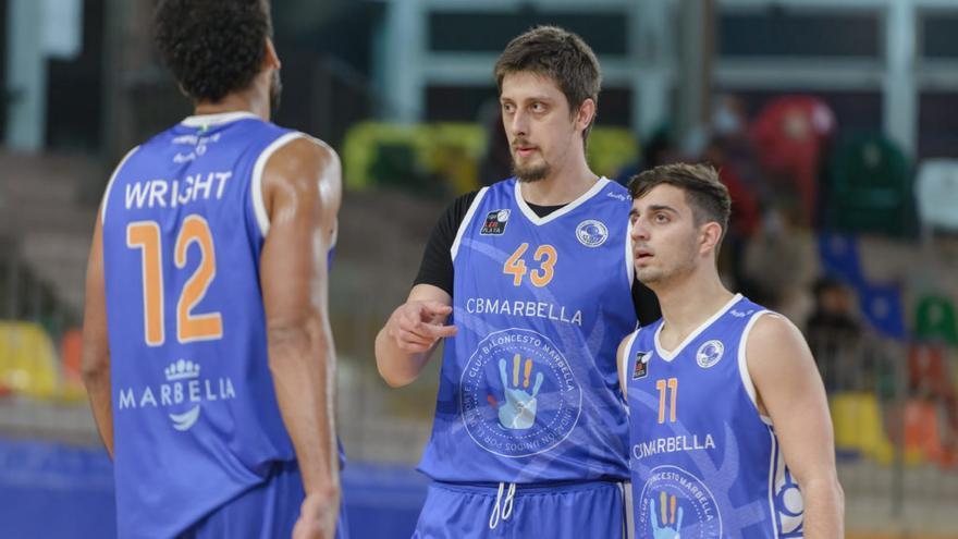 El CB Marbella ya prepara la vuelta de los octavos de final contra el Albacete Basket