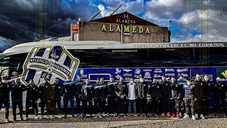 Inmejorable inicio de año del Atlético Benavente