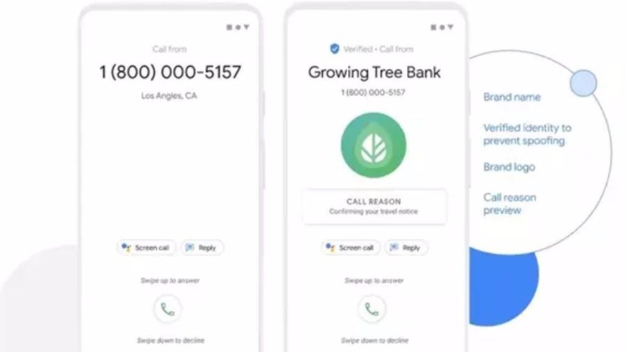 Google prepara un móvil que dice quién llama en voz alta